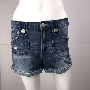 Dittos Women's Size 28 Denim Blue Shorts